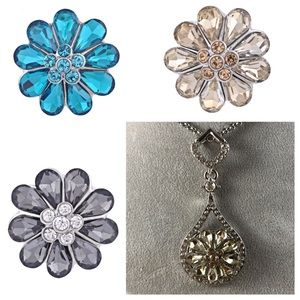 Jewelry - Interchangeable Snap Necklace w/3 FREE Snaps